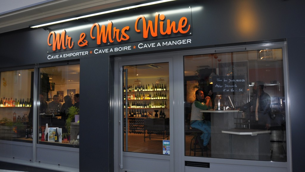 Wine Shop Mr & Mrs Wine